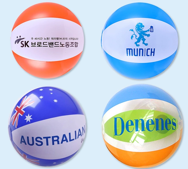 Custom LOGO printed plastic PVC beach inflatable water ball ,inflatable toy , sports toy ,bath toy , soft toy , ocean