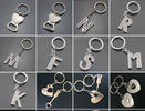 3D Hollow Zinc Alloy Car Logo keychain keyring Pendant Holder key chain,Fashion Love Heart Keyring Couple Keychain