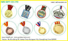 Custom High Quality Lanyard Metal Medal for Sport ,High Quality  Enamel Metal Running Medal with Transfer Printed