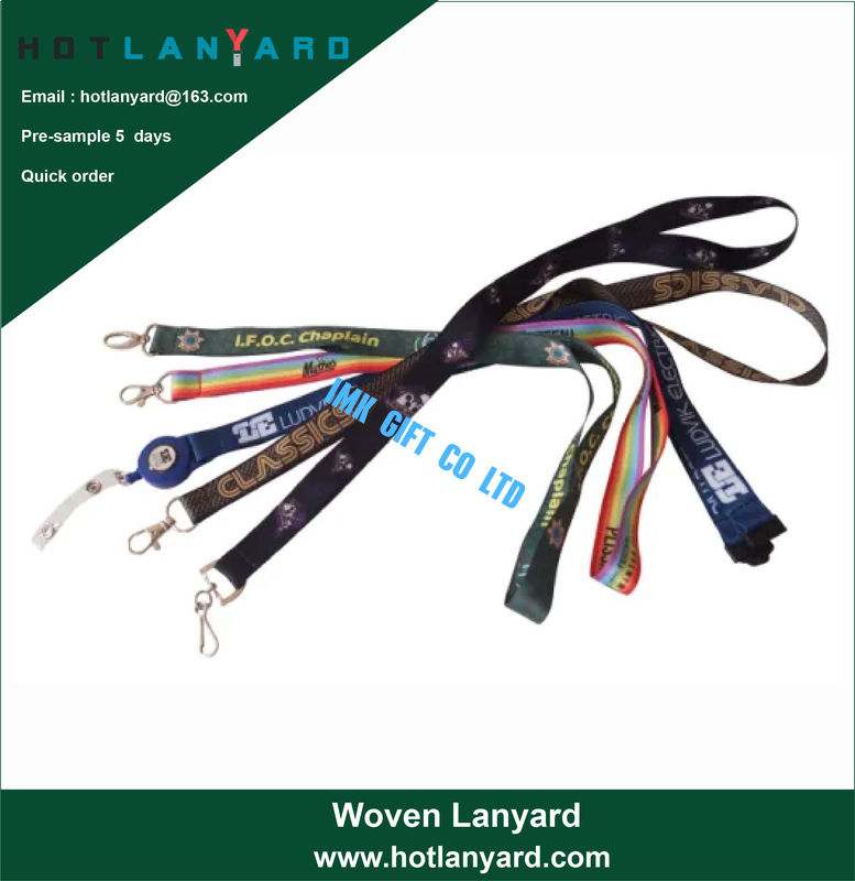 Factory Hot Sale Sublimation Custom Polyester Lanyards, Heat Transfer Printed Neck Lanyard, Custom DIY Cartoon Logo Lany